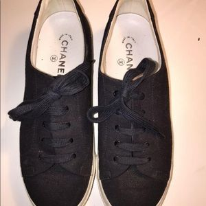 CHANEL Canvas sneakers